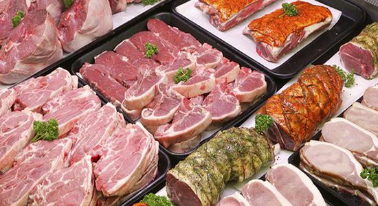 supermarket meat storage